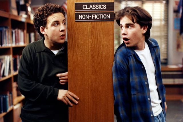 Cory and Shawn - Boy Meets World