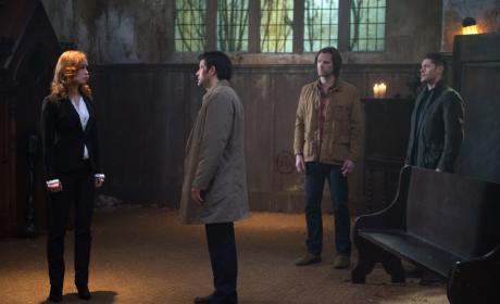 Facing off against a pirate? - Supernatural Season 12 Episode 10
