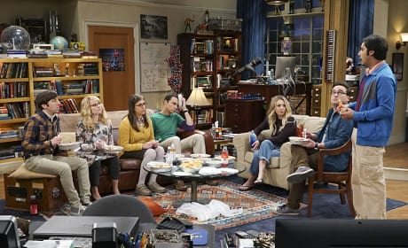 A Group Gathering - The Big Bang Theory Season 10 Episode 9