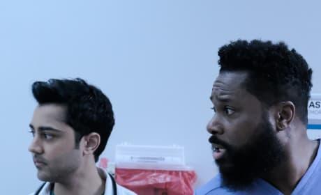 Team Abe - Tall - The Resident Season 2 Episode 17