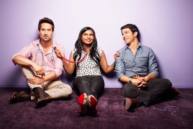 The Mindy Project Cast Photo