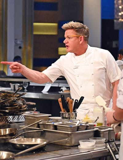 Ramsay Reprimands -tall - Hell's Kitchen Season 20 Episode 4