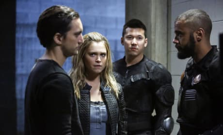 Clarke's Choice — The 100 Season 4 Episode 11