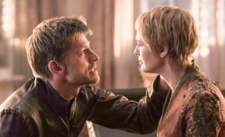 Jaime and Cersei on Season 6 - Game of Thrones