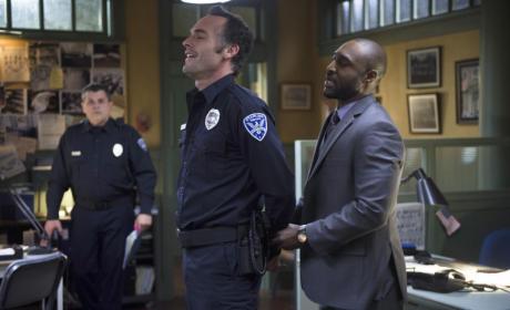 Office Lance Under Arrest?!