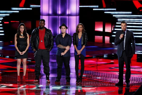 The Voice Bottom Four