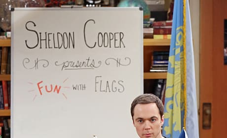 Special Edition of Fun with Flags! - The Big Bang Theory Season 9 Episode 2