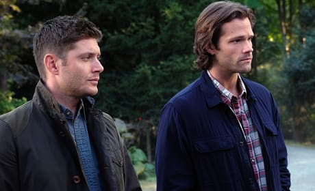 The Winchesters on the hunt - Supernatural Season 12 Episode 4