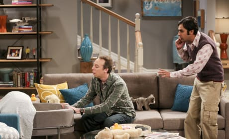 Go to Sleep, Baby Halley! - The Big Bang Theory Season 10 Episode 15