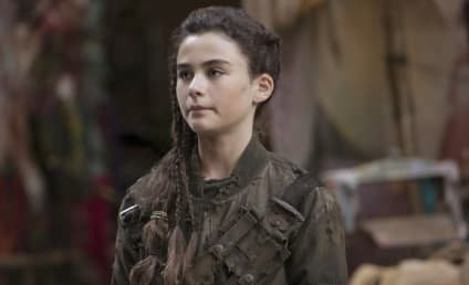 The 100: Lola Flanery on Madi's Backstory, Meeting Heroes from Clarke's Stories & More!