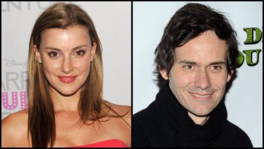 Emma Lahana and Christian Camargo