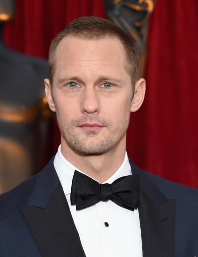 Alexander Skarsgard Attends SAG Awards