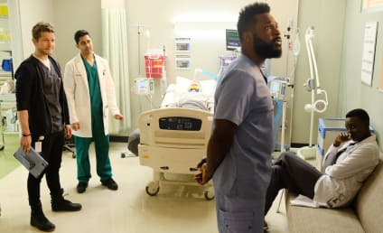 The Resident Photo Preview: Malcolm-Jamal Warner Checks In!