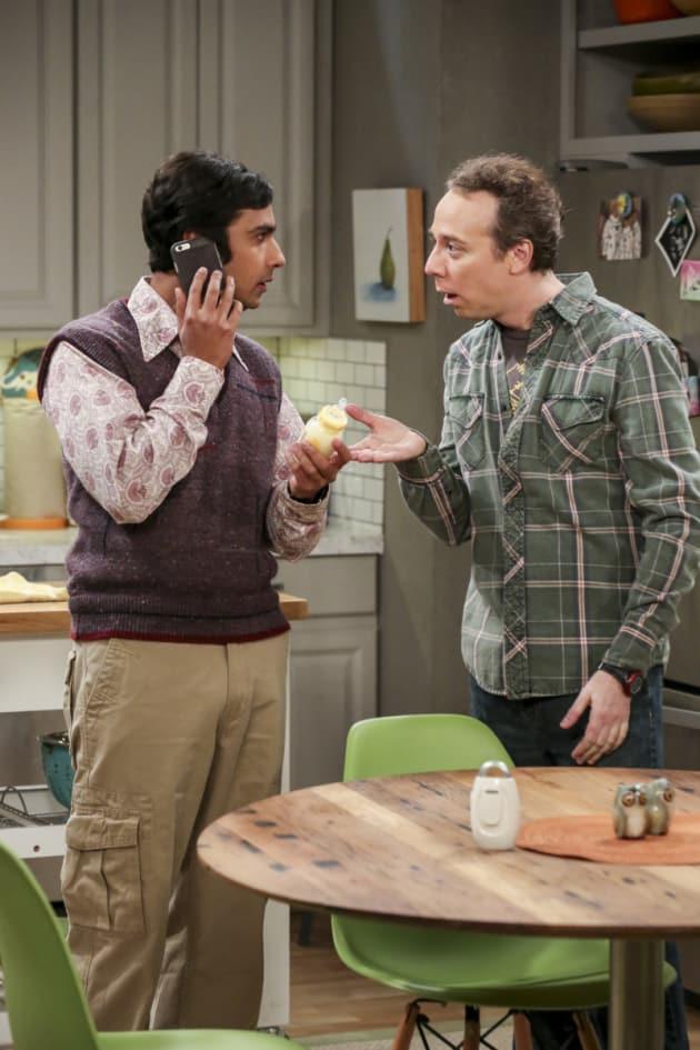 Raj and Stuart Have Baby Troubles - The Big Bang Theory Season 10 Episode 15