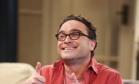 Leonard Gives a Thumbs Up - The Big Bang Theory Season 10 Episode 22
