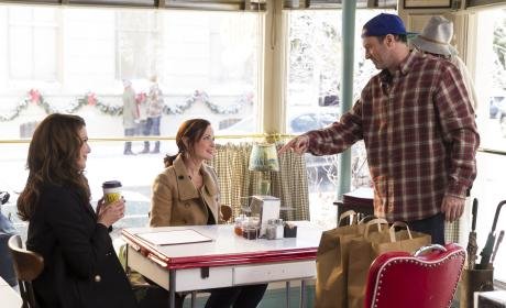 Coffee at Luke's - Gilmore Girls