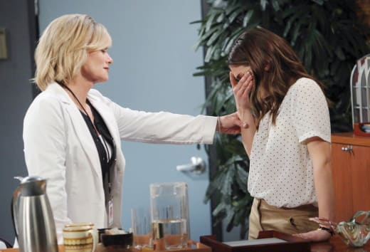 Abigail is Pregnant - Days of Our Lives
