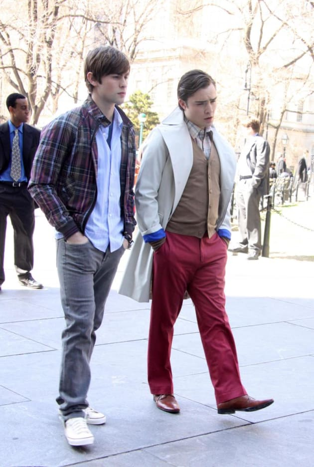 Nate, Chuck Pic