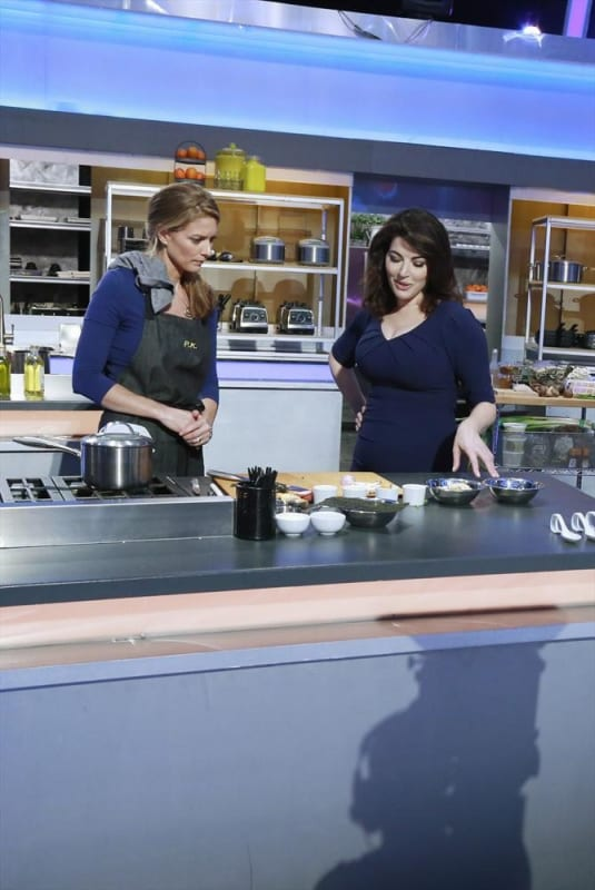Nigella Lawson Mentors P.K. on her Seafood Dish - The Taste Season 3 Episode 2