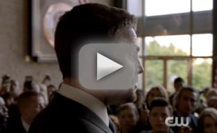 Arrow Sneak Peek: Can Oliver Protect His Secret?