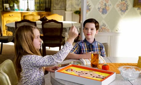 Alone At Home - Young Sheldon
