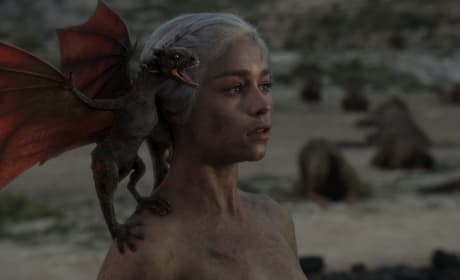 Daenerys and the Dragon