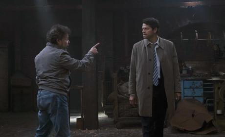 Castiel confronts Metatron - Supernatural Season 11 Episode 6