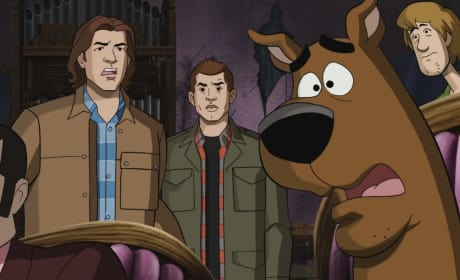 "Supernatural Photos from ""Scoobynatural"""