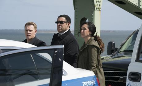 The FBI team looks on - The Blacklist Season 4 Episode 22