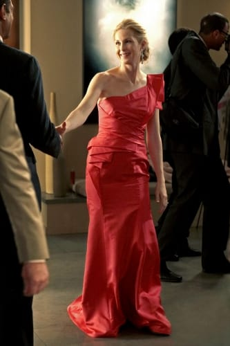 Lily in a Red Dress