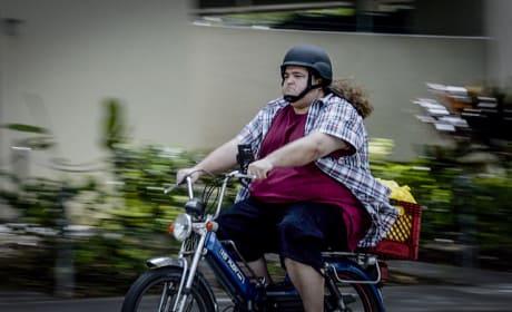 Jerry On a Bike  - Hawaii Five-0 Season 5 Episode 22