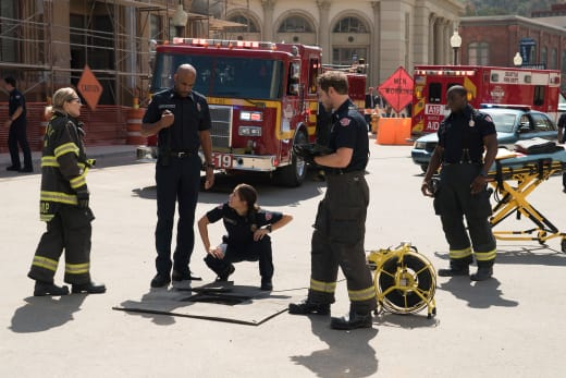 Rescue Attempt - Station 19  Season 2 Episode 2