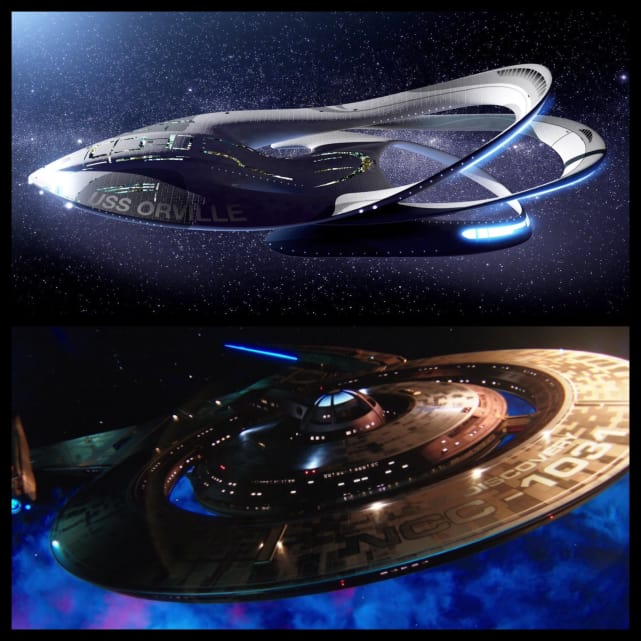 Ships: Planetary Union's Orville vs. Starfleet's Discovery