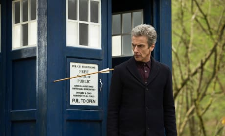"""Doctor Who Photos from """"Robot of Sherwood"""""""