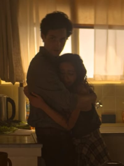 Joe Hugs Ellie  - YOU Season 2 Episode 9