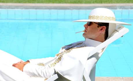 By the Pool - The Young Pope Season 1 Episode 8