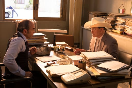 Inspector Giordano and James Fletcher Chase — Trust Season 1 Episode 2