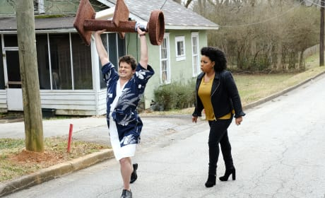 Lunging Towards Righteousness - Kevin (Probably) Saves the World Season 1 Episode 16