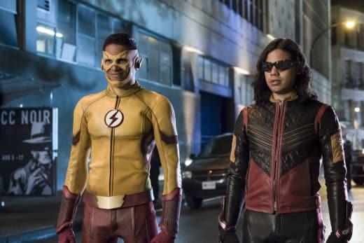 Feel The Confidence - The Flash Season 4 Episode 1