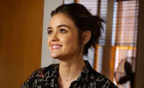 Aria Smiles - Pretty Little Liars Season 7 Episode 17