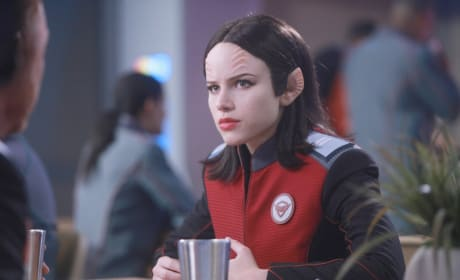 Alara Steps Up - The Orville