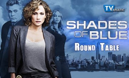 Shades of Blue Round Table: Choose the Most Shocking Twist!