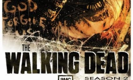 The Walking Dead Season Two Poster, Action Pic