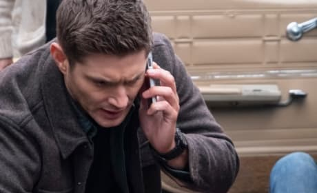 Injured Again - Supernatural Season 14 Episode 17