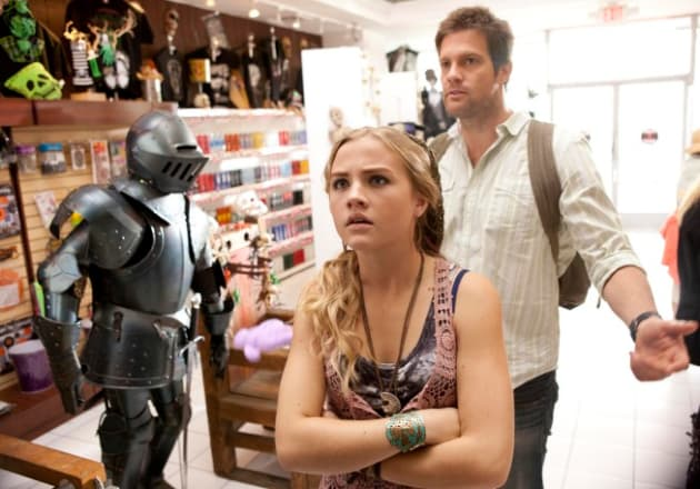 Willa & Walter At a Witchcraft Store