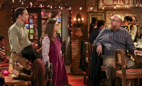 Sheldon and Amy See a Colleague - The Big Bang Theory Season 10 Episode 16