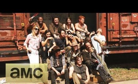 The Walking Dead Season 5 Set Visit