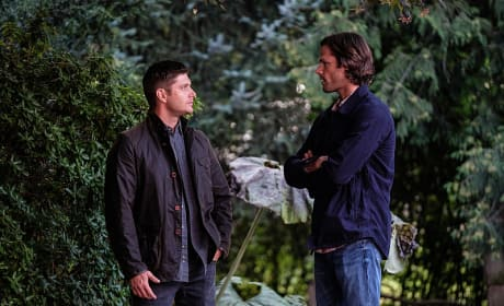 Sam and Dean have a talk - Supernatural Season 12 Episode 4