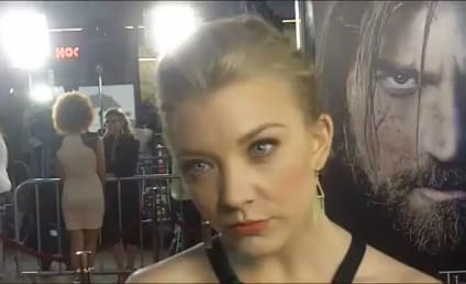 Game of Thrones Premiere Interviews: Natalie Dormer and Carice van Houten