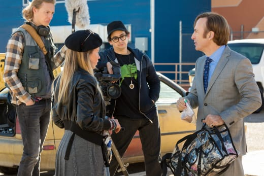Jimmy Directs His Crew - Better Call Saul Season 3 Episode 6